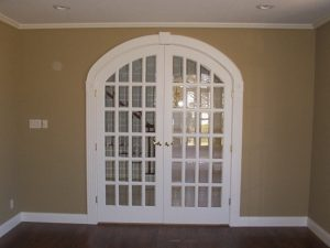 White small window